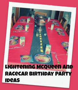 cars birthday ideas for your mcqueen fan