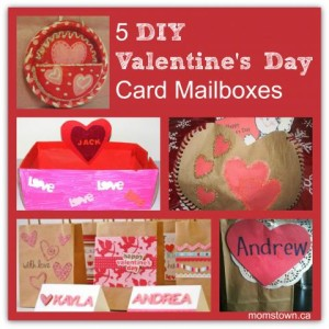 5 DIY Valentines Card Mailboxes