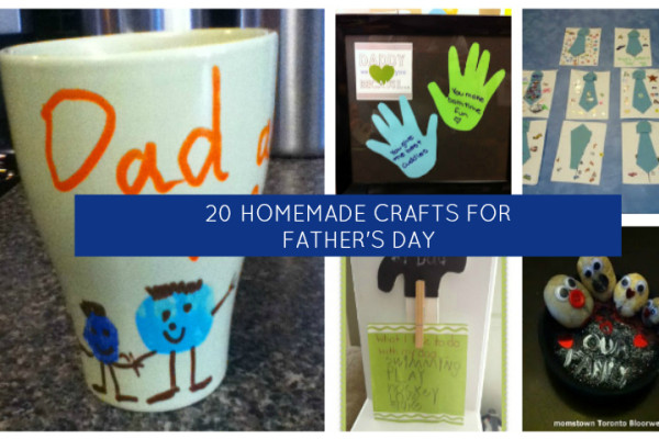 20 Homemade Father S Day Craft Ideas